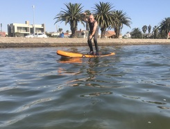 Lagoon sitio de stand up paddle / paddle surf en Namibia