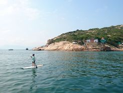 po toi island sitio de stand up paddle / paddle surf en RAE de Hong Kong (China)