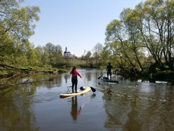 Severka sitio de stand up paddle / paddle surf en Rusia