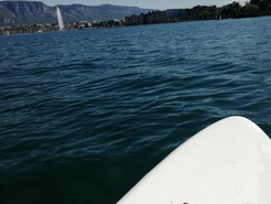 Bellevue spot de stand up paddle en Suisse