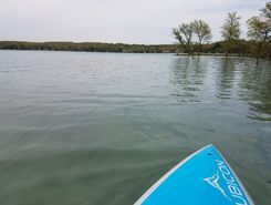 Beaver lake spot de stand up paddle en États-Unis