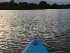 Elfrather See paddle board spot in Germany