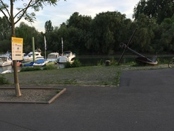 Ginnsheim_Gustavsburg paddle board spot in Germany