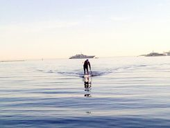 l'olivette sitio de stand up paddle / paddle surf en Francia