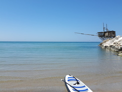 sup paddle board spot in Italy