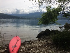 Plage d'aix les bains paddle board spot in France