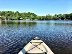 Catawba River paddle board spot in United States