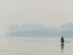River Ganga spot de stand up paddle en Inde