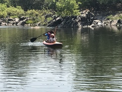 Mhadei Wildlife Sanctuary paddle board spot in India