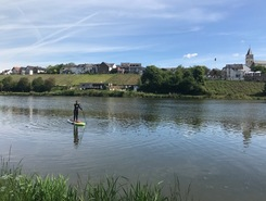 Stadtbredimus paddle board spot in Luxembourg