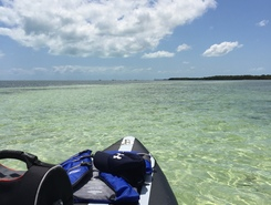 Boca Chica paddle board spot in United States