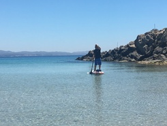 Carloforte paddle board spot in Italy