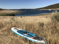 Monsaraz paddle board spot in Portugal