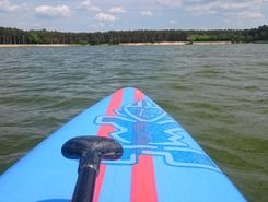 lhota jezero paddle board spot in Czech Republic