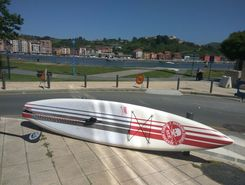 barakaldo paddle board spot in Spain