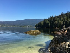Deep Cove spot de stand up paddle en Canada