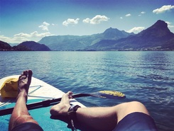 Wolfgangsee sitio de stand up paddle / paddle surf en Austria