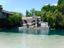 Peney-Dessous spot de stand up paddle en Suisse