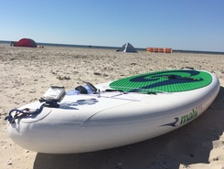 Sankt Peter-Ording-Nord sitio de stand up paddle / paddle surf en Alemania