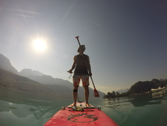 Plage d'Angon spot de stand up paddle en France