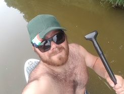 veerse kreek spot de stand up paddle en Pays-Bas