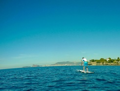 St jean spot de stand up paddle en France