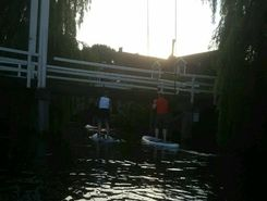 edam paddle board spot in Netherlands