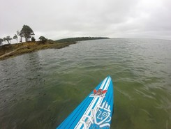 cap coz  paddle board spot in France
