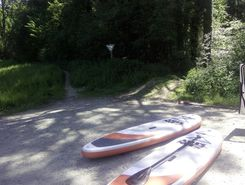 argen paddle board spot in Germany