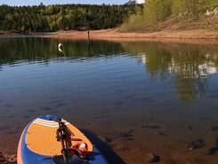 Crystal Creek Reservoir spot de stand up paddle en États-Unis