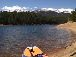 South Catamount Reservoir, Cascade-Chipita Park spot de stand up paddle en États-Unis
