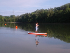 stausee schoemberg  sitio de stand up paddle / paddle surf en Alemania