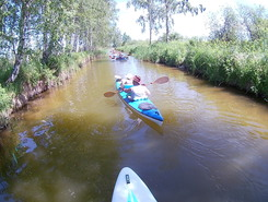 wielen paddle board spot in Poland