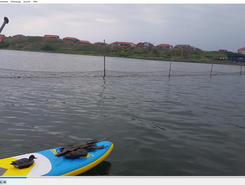 Hvide Sande paddle board spot in Denmark