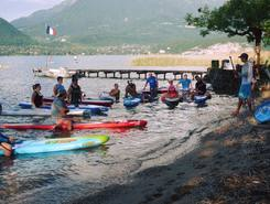 NCY SUP Center paddle board spot in France