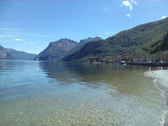 Lago di Como paddle board spot in Italy