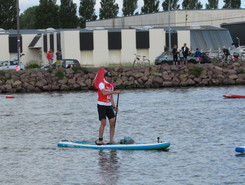 Canal de Caen Ouistreham paddle board spot in France