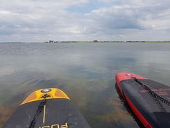 grevelingenmeer paddle board spot in Netherlands