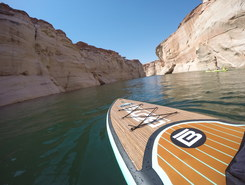 Antelope canyon paddle board spot in United States