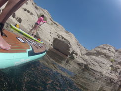 Lone Rock, Lake Powell spot de SUP em Estados Unidos