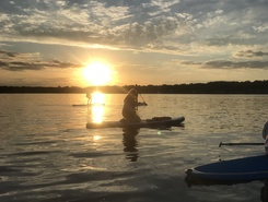 Crooked Lake sitio de stand up paddle / paddle surf en Estados Unidos