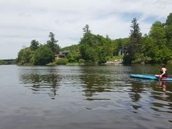 Mooney's beach spot de stand up paddle en Canada