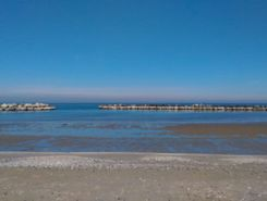 Bellaria paddle board spot in Italy