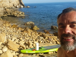 Figuerolles sitio de stand up paddle / paddle surf en Francia