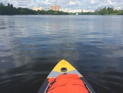 Strogino, moscow, russia sitio de stand up paddle / paddle surf en Rusia