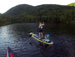 Lac d'Alfeld sitio de stand up paddle / paddle surf en Francia