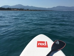 borgo paddle board spot in France