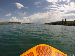 Hallwilersee Camping Seeblick paddle board spot in Switzerland