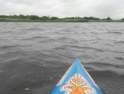 oostmahorn paddle board spot in Netherlands
