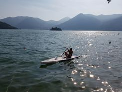 Lago d'Iseo | Marone | Italien sitio de stand up paddle / paddle surf en Italia